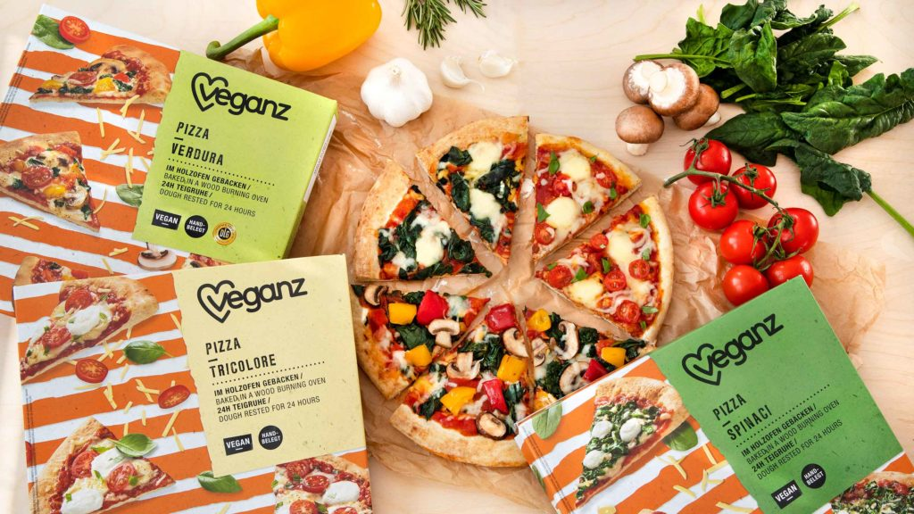 Veganz Pizza Tricolore Vegan Pizza Meets Bella Italia