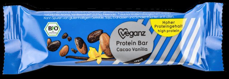 Protein Bar Cacao Vanilla von Veganz