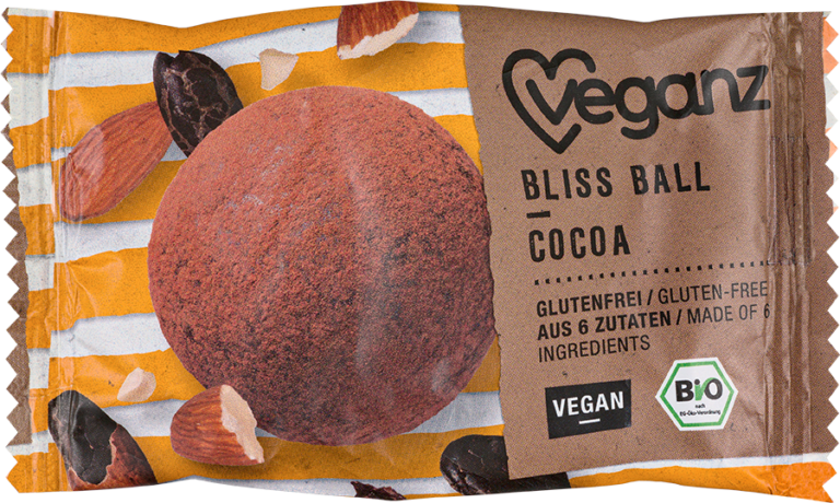 Product picture Organic Veganz Bliss Ball Cocoa