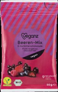 Beeren-Mix in Zartbitterschokolade von Veganz