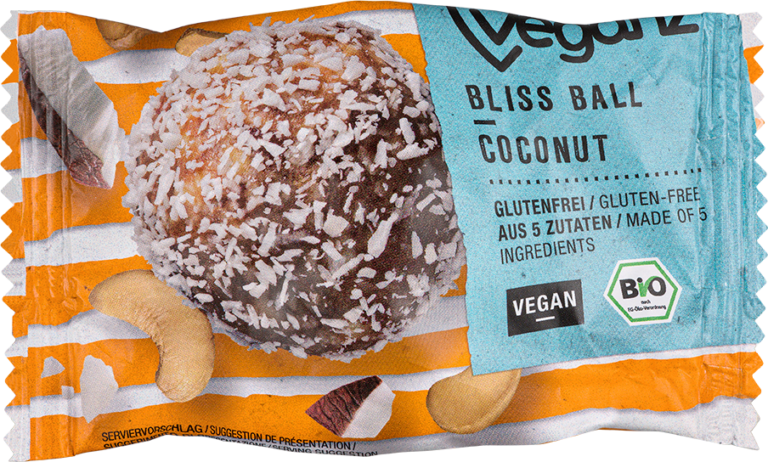 Product picture Organic Veganz Bliss Ball Coconut