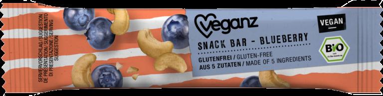 Snack Bar Blueberry von Veganz