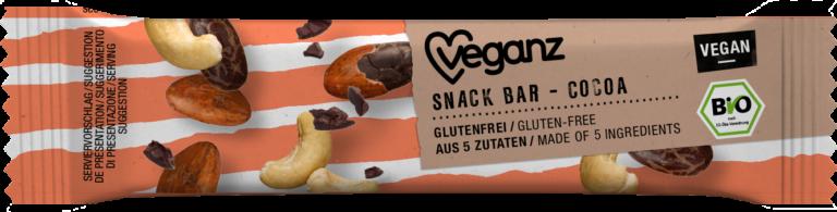 Snack Bar Cocoa von Veganz