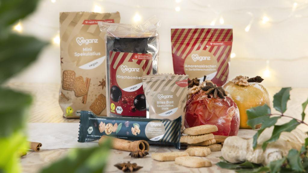 Vegane Weihnachtsprodukte von Veganz