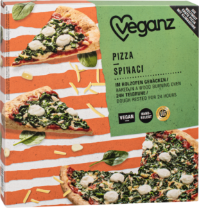 Veganz Pizza Spinaci The Vegan Italian Style Spinach Pizza
